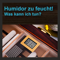 humidor zu feucht was kann ich dagegen tun. Black Bedroom Furniture Sets. Home Design Ideas